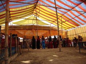 jatrapala artists in a village fair