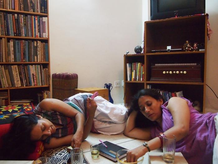 ঠোঁটকাটা আলাপ: সায়দিয়া গুলরুখ ও নাসরিন সিরাজ @আলোকচিত্রী: নাঈম মোহায়মেন